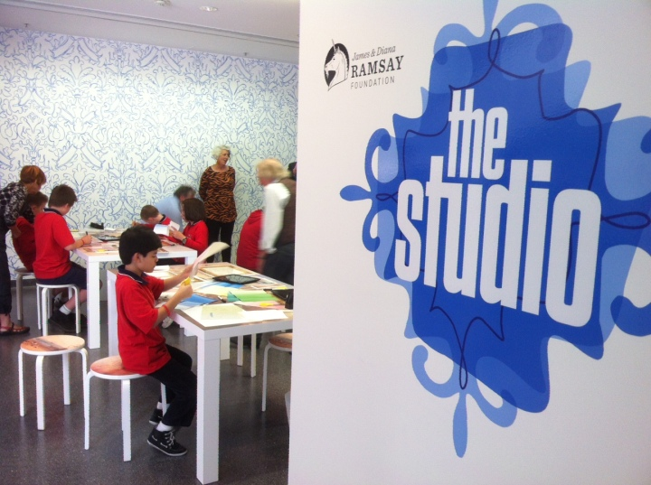 The Studio interactive space at the Art Gallery of South Australia