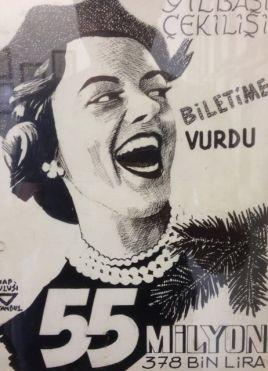 Ihap Hulusi, lottery poster