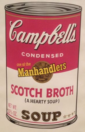 Andy Warhol Soup Can Manhandler