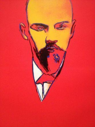 Red Lenin, Andy Warhol