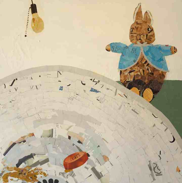 Peter Rabbit in Bathroom