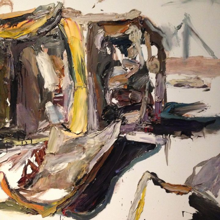 Taren Kot, Hilux; 2012, Oil on linen, Ben Quilty born 1973.