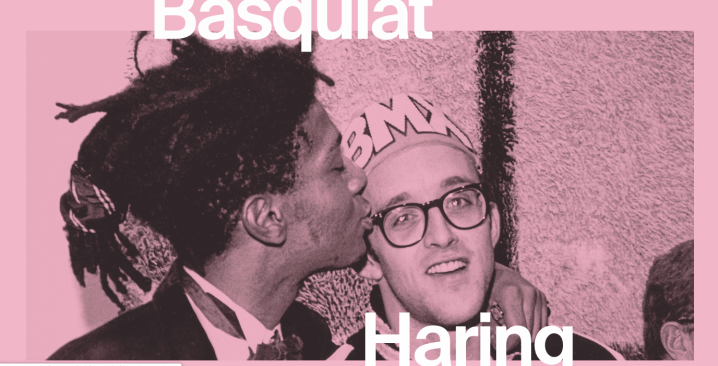 Basquiat Haring exhibition at NGV